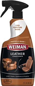 Weiman Leather Cleaner and Conditioner for Furniture - 22 Ounce -