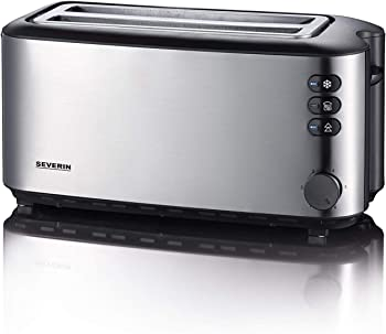 Severin Automatic 4 Slice 1400 W Long Slot Toaster