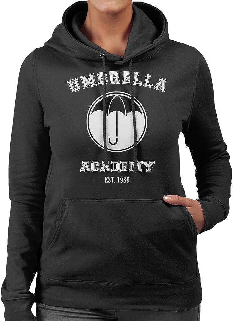Cloud City 7 Hello Goodbye Retro Wave Umbrella Academy Womens Sweatshirt