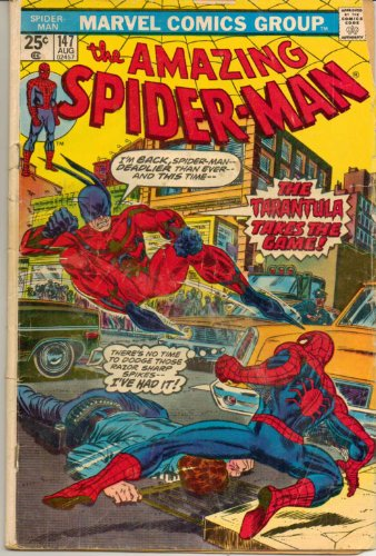 Amazing Spider-Man, The No. 147 (The Trantula takes the Game !) (147 Spiderman Amazing)