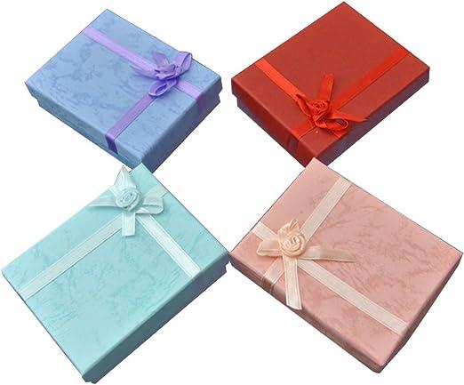 Milopon Anillo Caja – Joyero caja de regalo para bodas, San ...