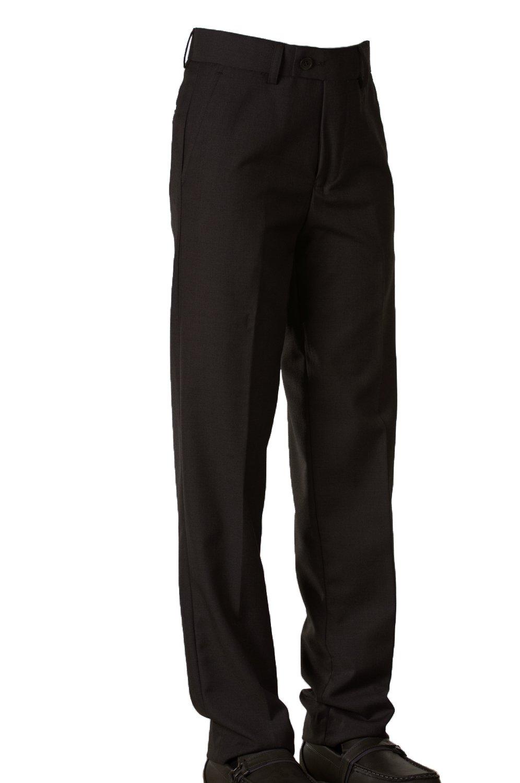 Tuxgear Fouger Boys Slim Black Dress Pants (16)