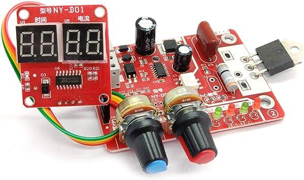 Spot Welder Machine Time Control Board Current Digital Display Controller 40A