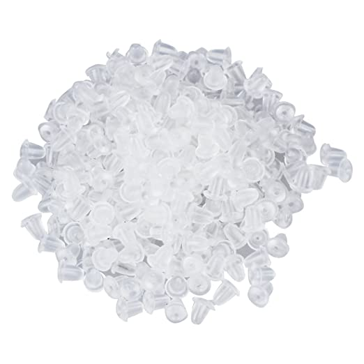 10 opinioni per Gleader 300 pz ricambi fermaorecchini trasparente morbido in plastica