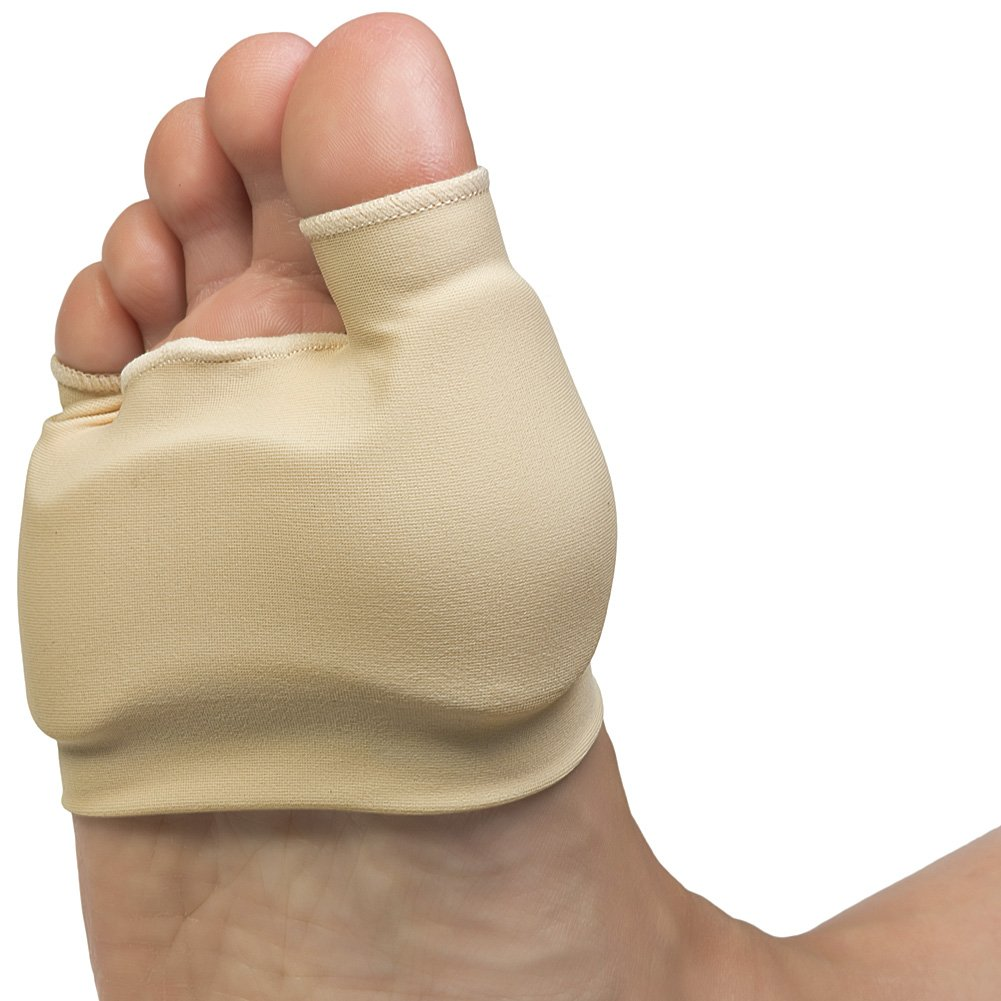 Double Bunion Sleeve - Cushions Metatarsal; Eases Walking Pressure
