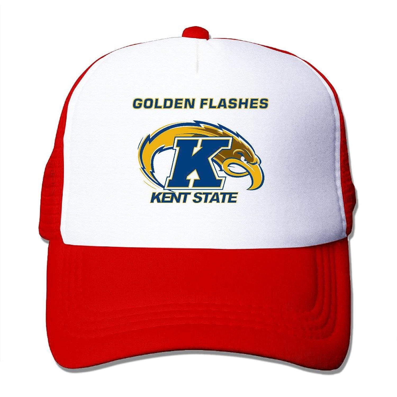 Baboy Kent State Gold Sun Protection Cap Lightweight Mesh Snap Back CapRoyalBlue