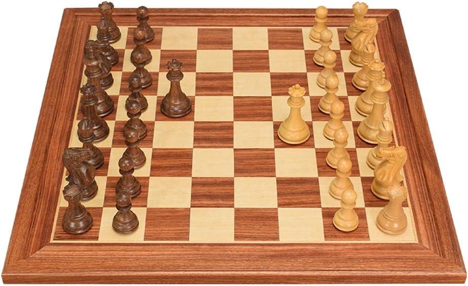 Juegos de mesa Ajedrez Tablero de ajedrez de damas de ajedrez creativo internacional Tablero de ajedrez para niños Desarrollo intelectual Aprender Juguetes Piezas de ajedrez de madera Ajedrez de damas: Amazon.es: Hogar