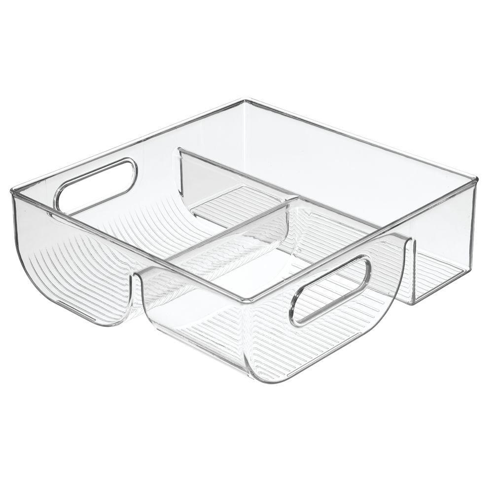 InterDesign Lid Storage Organizer for Kitchen Cabinet, Pantry - Clear 74330EU