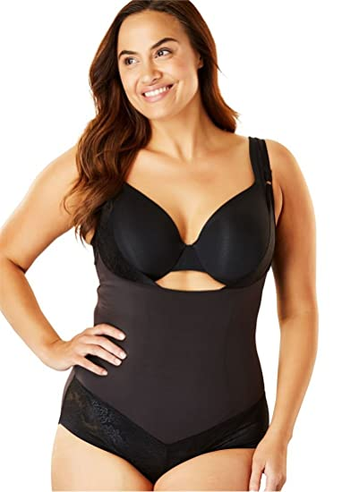 Maidenform Women s Plus Size Firm Control Body Shaper at Amazon Women s  Clothing store  3a2024d75