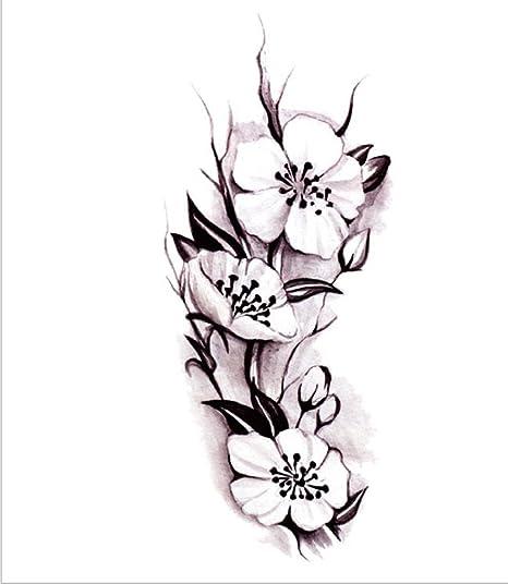 GYMNLJY Etiquetas engomadas del tatuaje Pierna de cubrir ...