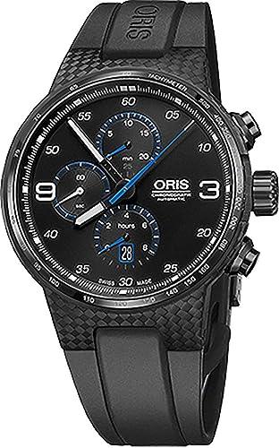 Oris Williams Cronógrafo carbono fibra extrema Mens Reloj: Amazon.es: Relojes