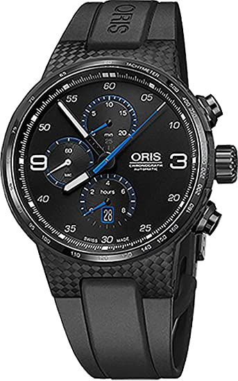 Oris Williams Cronógrafo carbono fibra extrema Mens Reloj