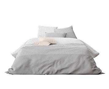 Aminata Bettwasche 135x200 Cm Baumwolle Reissverschluss Kreise