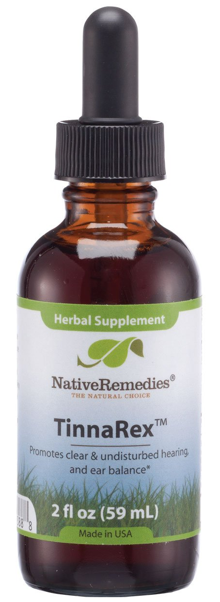Native Remedies TinnaRex for Ear Clarity, Nerve and Circulation Health