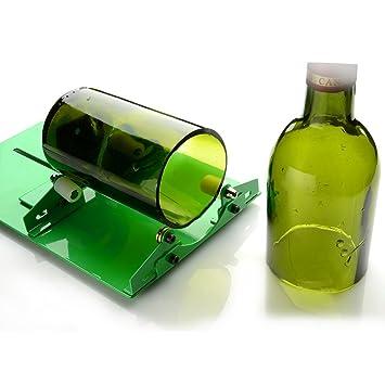 AGPtek Botella de cristal Cortador Herramienta De Corte Kit manchado Glass – -recicla botellas de