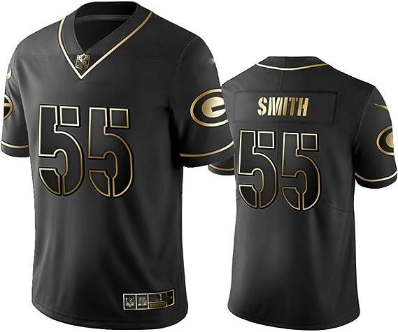 # 55 Green Bay Packers ZaDarius Smith American Football Trikot Herren Besticktes Rugby Trikot Stickerei Herren Damen Fans Trikots