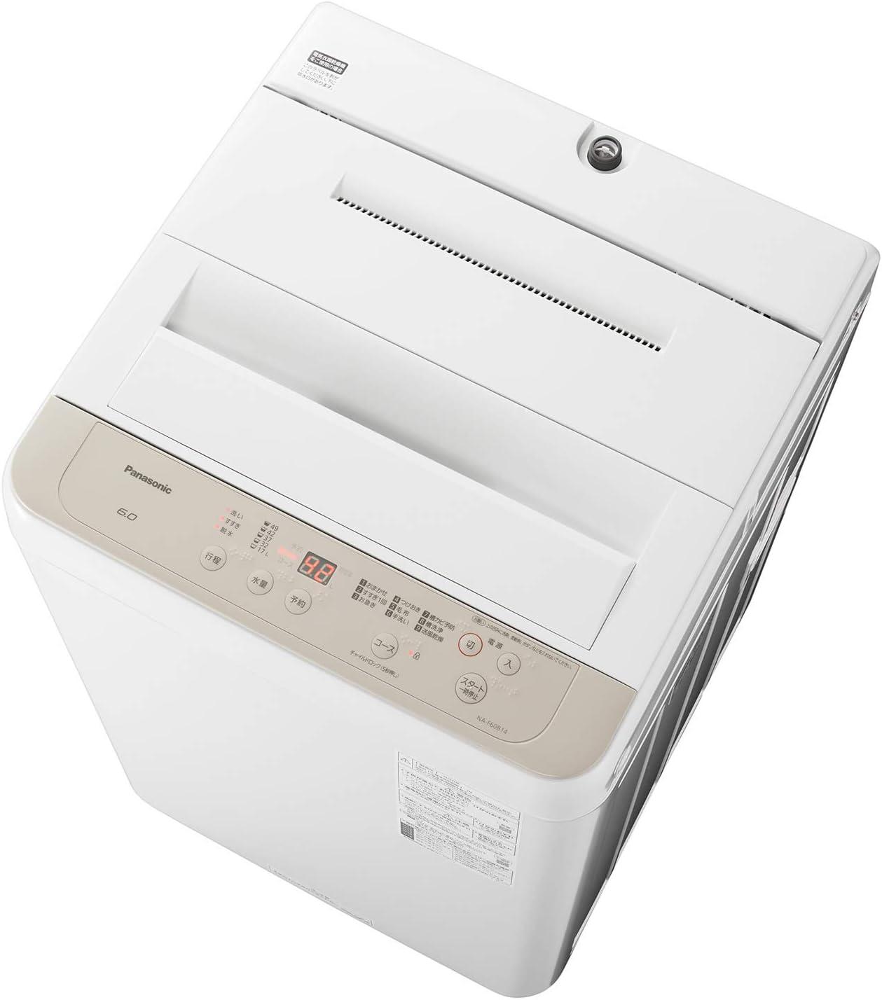 パナソニック 全自動洗濯機 NA-F60B14-C