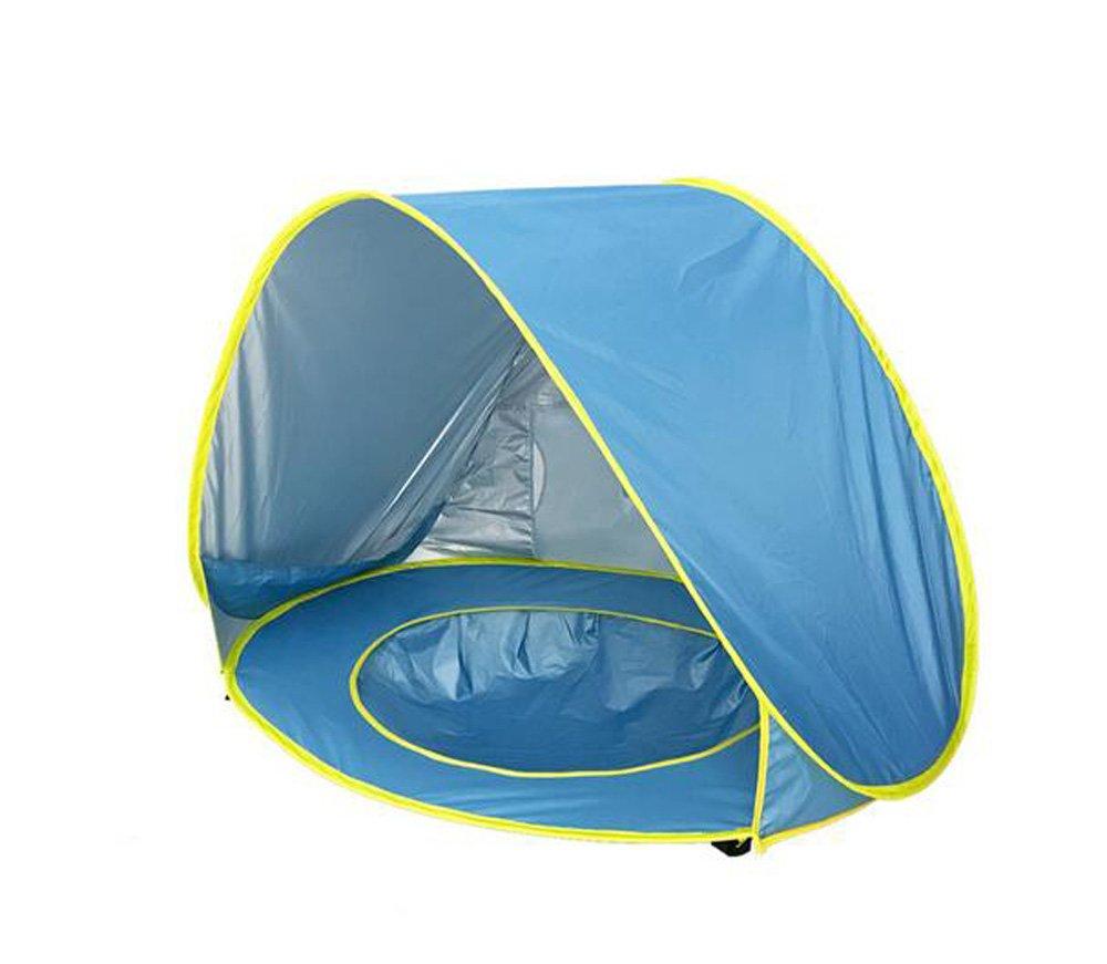 Ybk Tech pop-up automatique Tente de plage pour bébé enfant pour enfant Protection UV instantanée Portable Quick Cabana Abri Soleil avec peu à l'intérieur Jardin piscine pour plage Camping pique-nique