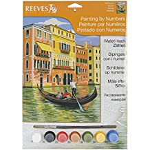 Reeves Venice Acrylic Painting by Numbers Set, Medium