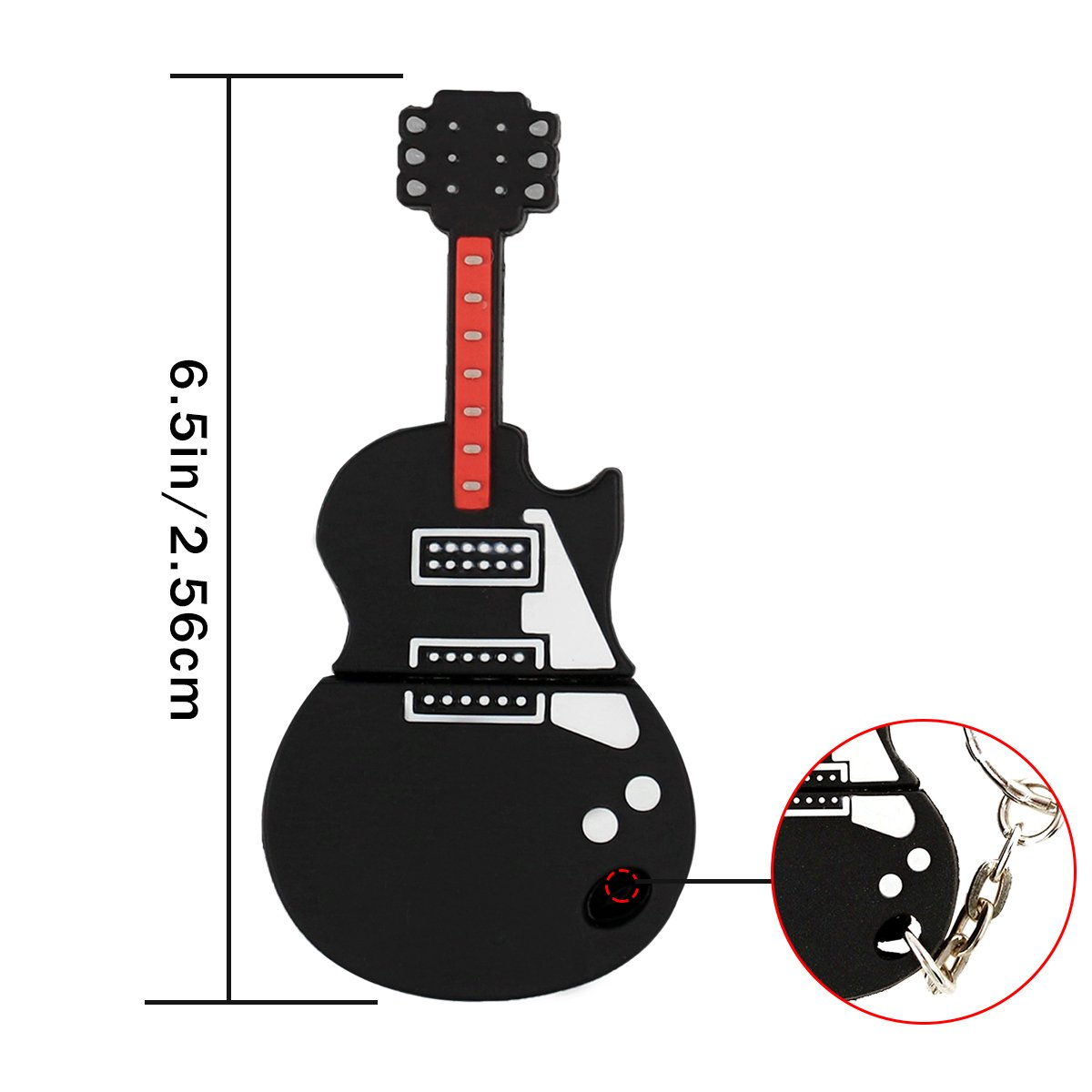 USB 16GB Novelty Cool Guitar Style USB Flash Pen Drive Memory Stick Gift UK [PC]