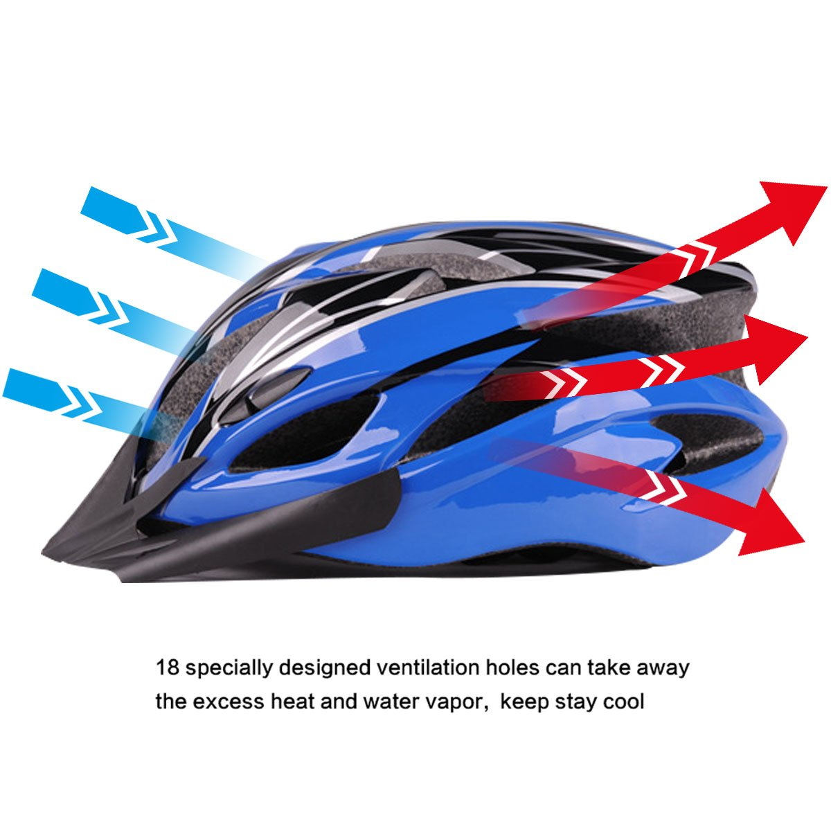 Para Six Mit Insektennetz Bicicleta De Foxes Adultos Casco Ligero 0On8kwPXN