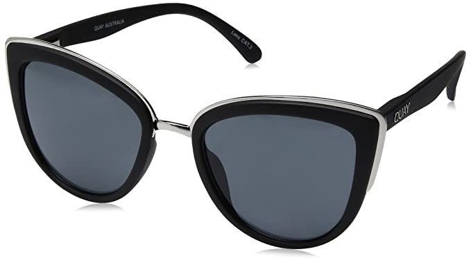 346f5e9dda0bbd Amazon.com  Quay Women s My Girl Sunglasses, Black Smoke, One Size  Quay   Clothing