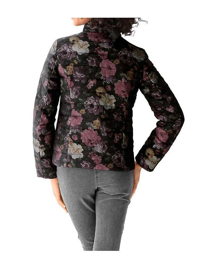 Details zu Linea Tesini Damen Designer Daunenjacke, bunt