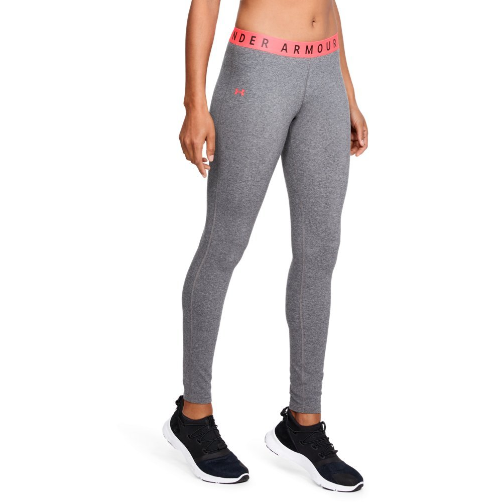 Under Armour Women's Favorite Leggings, Charcoal Light Heath /Brilliance, Small