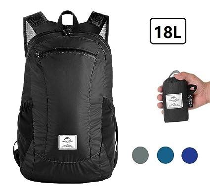 Sunuo Outdoor Folding Waterproof Portable Packable Pocket Bag Travel  Walking Lightweight Backpack Sports Bag Shoulder Bag 97ec2730aa9cf