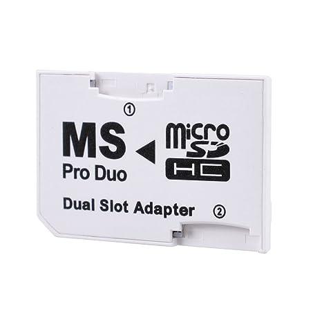 LEAGY - Adaptador de doble ranura para PSP Pro Duo: Amazon.es ...