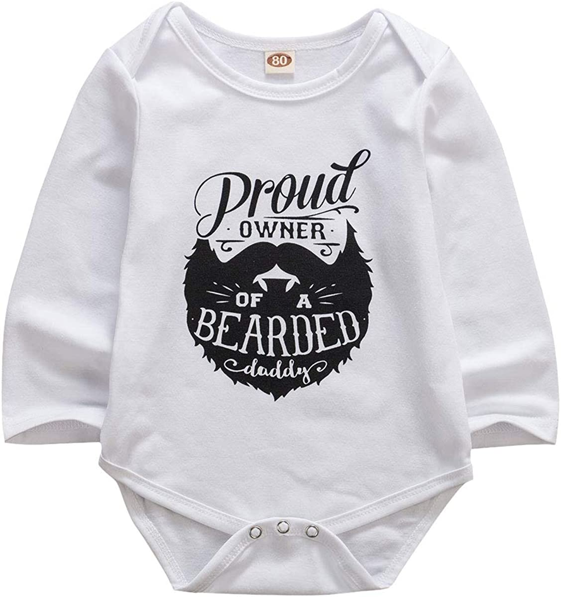 BEDHRT Newborn Infant Baby Boys Girl Romper Funny Letter Jumpsuit Bodysuit Outfits Clothes One Piece