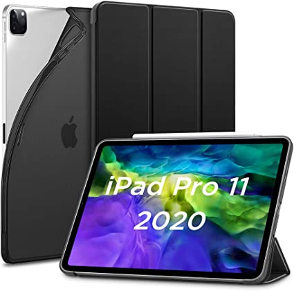 /Étui//Housse Mince pour iPad Pro 2020 11 Dos en TPU, Supporte Charge sans-Fil Transparent Compatible avec Smart Keyboard /& Smart Cover ESR Coque de Protection pour iPad Pro 11 2020//2018