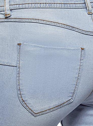 Donna Ultra Skinny Oodji Jeans 7000w Blu Basic 5dvw0Uf