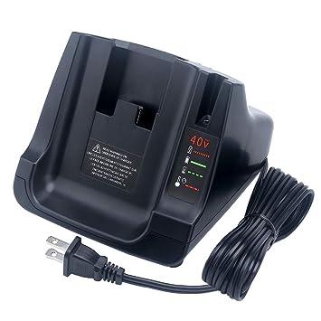 Biswaye Cargador de batería para Black+Decker LCS36 LCS40 ...