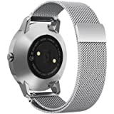 Shangpule Replacement Bands for Withings Steel HR Tracker, Stainless Steel Metal Bracelet Strap for Withings Steel HR 40mm/36mm