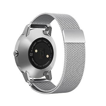 Omicton Correa de repuesto para reloj de pulsera para Huawei Watch 2 Sport, Ticwatch 2