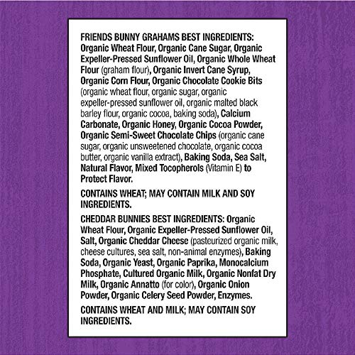 Annie's Homegrown Bunny Snacks Favorites Variety Pack, 36 Count