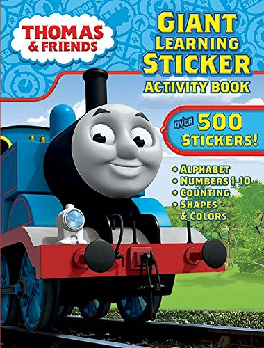 Books Sticker Jumbo (Bendon Thomas & Friends Giant Learning Sticker Activity Book Including Over 500 Stickers)