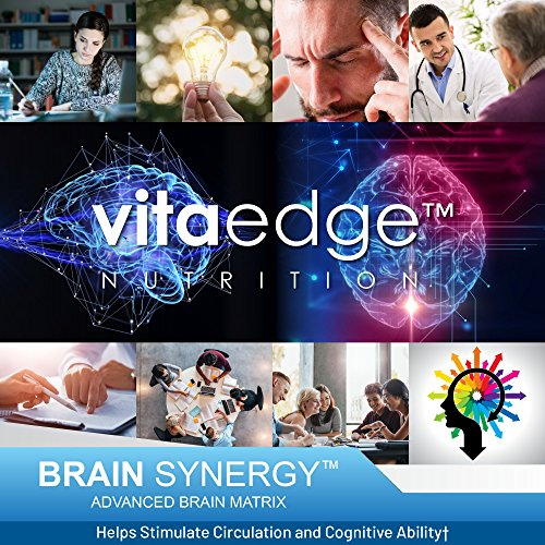 VITAEDGE Brain Supplement - All Natural Nootropic Pills for Memory, Focus, Clarity and Concentration - Formulated with Dmae, Gaba, Green Tea Extract, Bacopa Monnieri for Women or Men by VITAEDGE NUTRITION (Image #5)