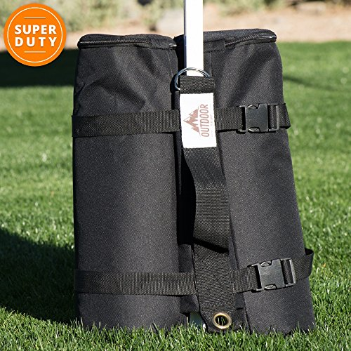 LARGE Canopy Weight Bags for Portable Shelter - SET of 12 by Best Outdoor Canopy Weight