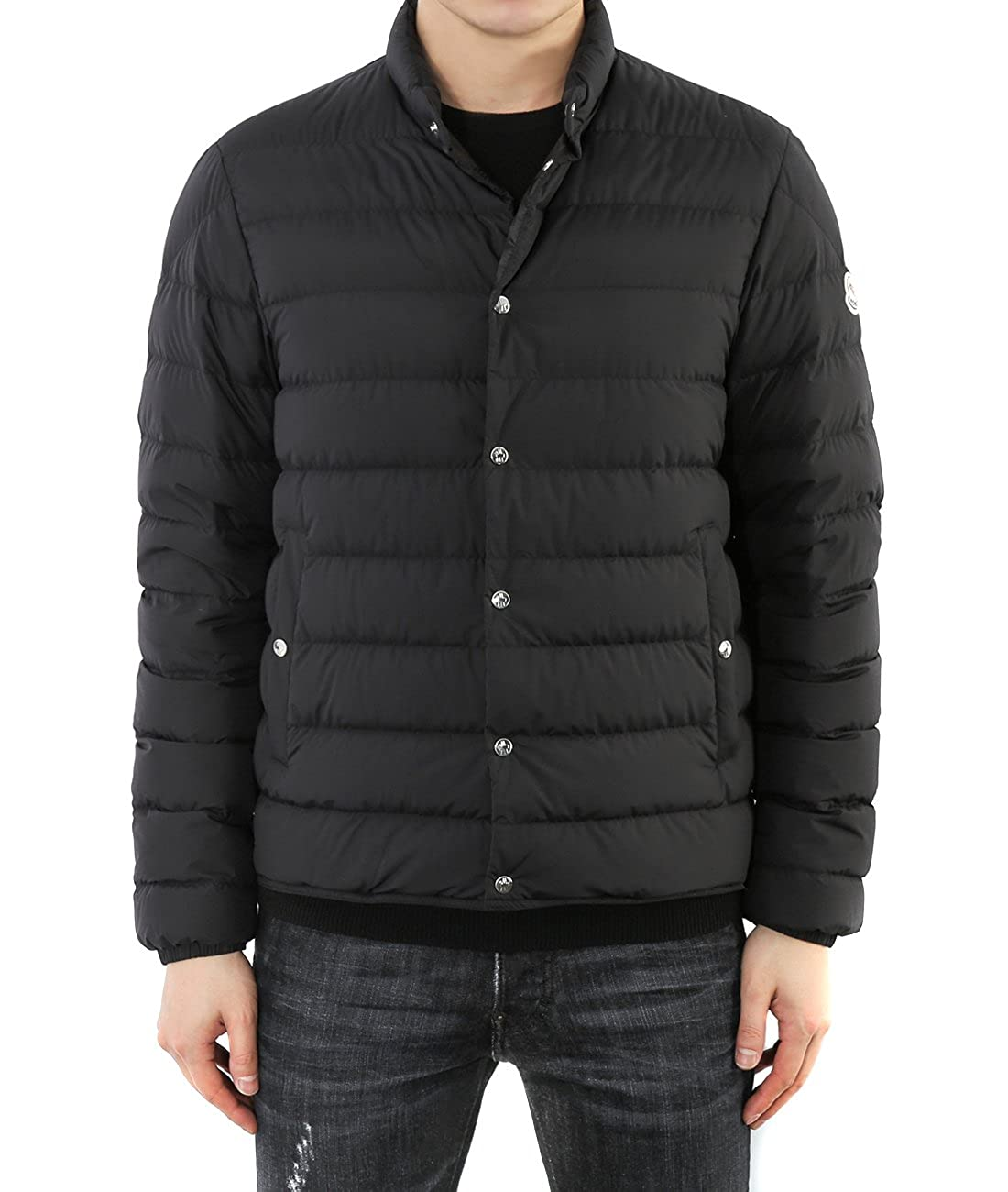 d5c8a3f22 Wiberlux Moncler Cyclope Men's Padded Snap-Fastened Jacket 5 Black ...