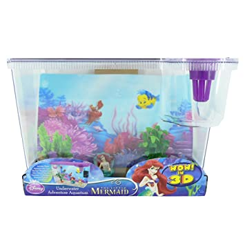 La Sirenita Disney Big Eye tanque de peces acuario de peces: Amazon.es: Productos para mascotas