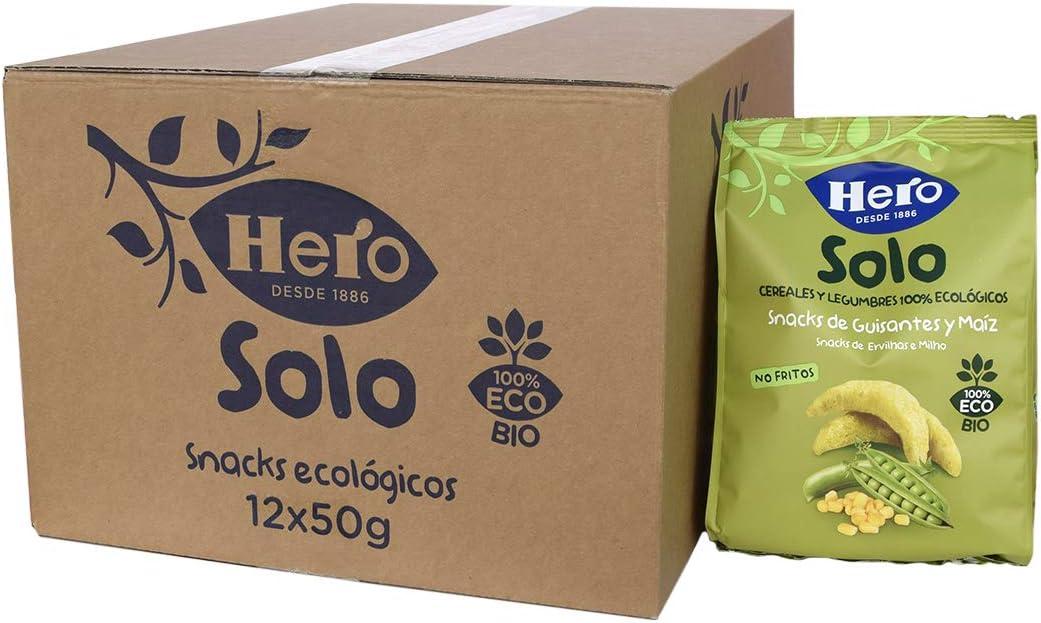 Hero Solo Snacks Infantiles 12 Unidades 50 g: Amazon.es: Alimentación y bebidas