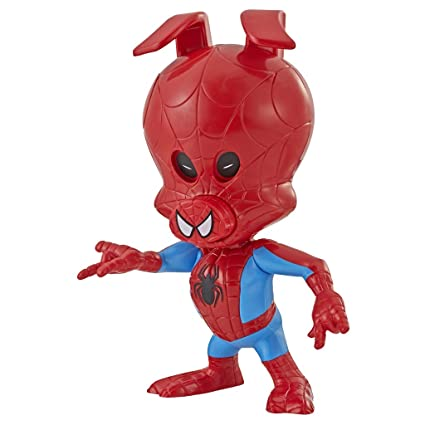Spider Man Movie Eye Action Honolulu Into The Spider Verse Spin Vision Spider Ham Action Figures Multi