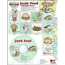 ScrapSMART - Junk Food - Clip Art Software Collection - Jpeg & PDF files (CDJF112)
