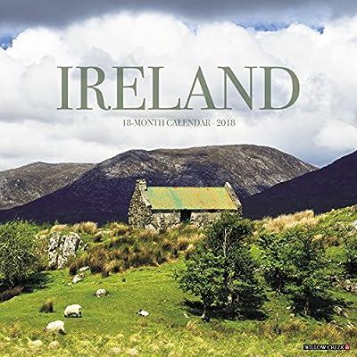 ireland 2018 calendar wall calendar