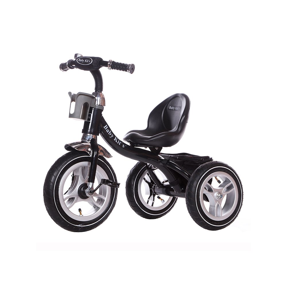 Little Bambino RideOn Pedal Tricycle Children Kids Smart Design 3 Wheeler |  CE Approved Air Wheels Adjustable Seat Metal Frame Bell