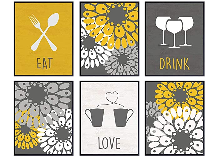Top 9 Eat Love Drink Decor