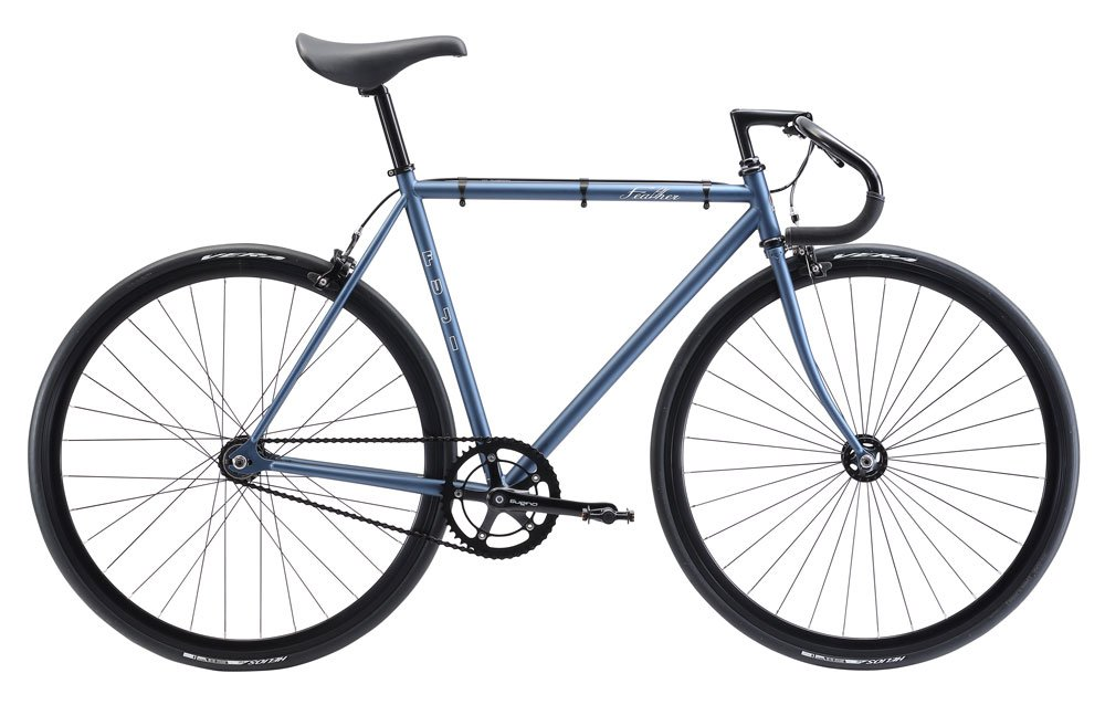 FUJI(フジ) FEATHER 43cm シングル MATT BLUE GRAY ロードバイク 2018年モデル 18FETRGY MATT BLUE GRAY 43cm B075SZGB41