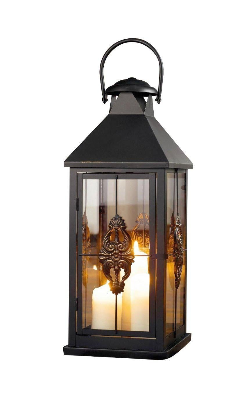 Large 25 in. Metal European-style Hanging Candle Lantern Product